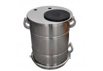 COLO-40B Stainless Steel Fluidizing powder Tank