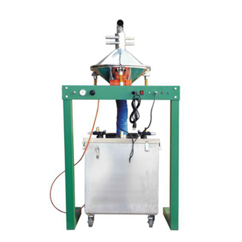COLO-3000-S  automatic powder coating sieving machine in Finland