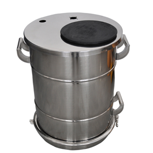COLO-40B Stainless Steel Fluidizing powder Tank in Doha