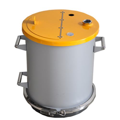 COLO-40C  Fluidizing Powder container in Muscat
