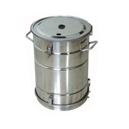 COLO-52A Stainless Steel Fluidizing powder hopper in Russia