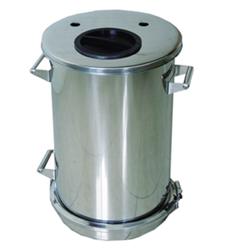 COLO-62A Stainless Steel Fluidized powder hopper in Uganda