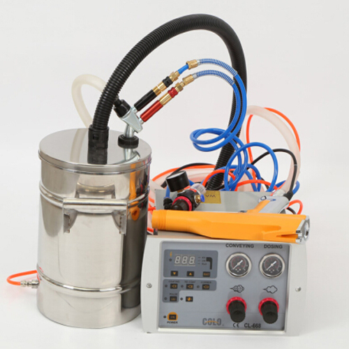 COLO-668T-B Portable Manual Powder Coating System in Uganda