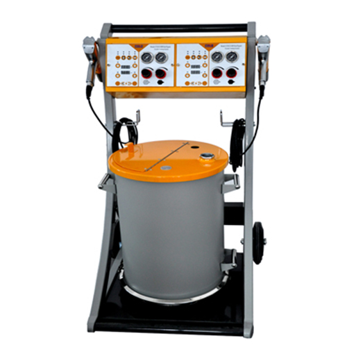 COLO-800D-2 Manual Powder Coating Machine in Indonesia