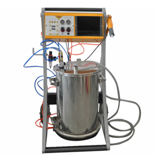 COLO-800D Manual Powder Coating Machine in Uganda