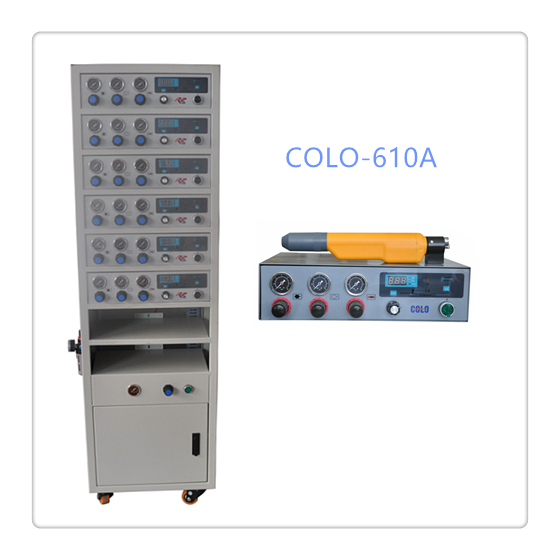 COLO-610A Powder coating control cabinet in Czech Republic