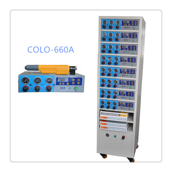 COLO-660A Powder Sraying Machine Control Cabinet in Greece