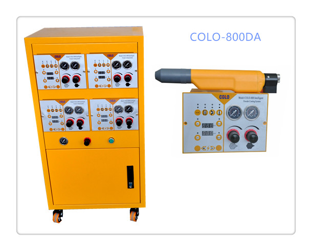 COLO-800DA Powder Coating Gun control Cabinet in Sweden